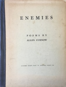 Poetry books & writing – Allen Curnow